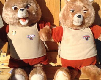 Teddy Ruxpin Dolls, Books and Tapes Package, 1980's