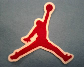 Jumpman chenille patch