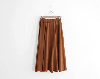 Vintage Skirt - Long/High Waisted - Maxi Skirt