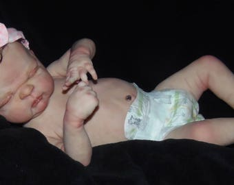 Reborn baby girl! Anatomically correct! Ready to ship today! She is beautiful