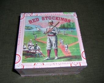Red Sox Cigar Box Baseball Stadium