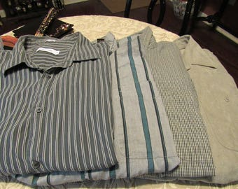 Men's Bundle of Long Sleeve Dress Shirts - Size 2XL