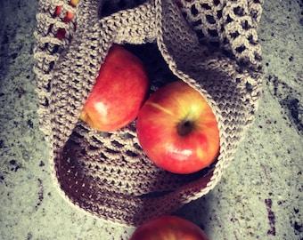 Environmentally Responsible Cotton String Shopping Bag