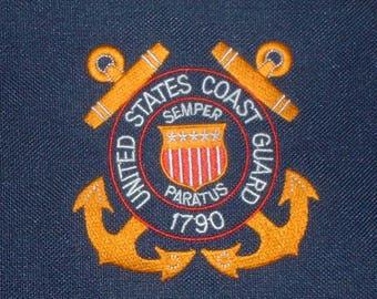 USCG US Coast Guard nylon briefcase/bookbag/laptop case
