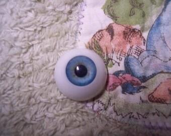 EyEcO EyEs PoLyGLaSs Eyes CoRnFLoWeR 24MM ~ REBORN DOLL SUPPLIES