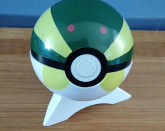 Vintage Sport Ball Plastic 3 inch Pokeball