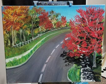 Fall in the Midwest 16x20/Oil Painting
