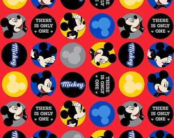 Disney Fabric There is Only One Mickey Fabric FLEECE From Springs Creative