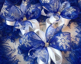 Royal Snowflake bow