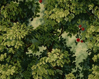 5,5 yards Scalamandre Colony Marly cut velvet fabric tapestry-like (also available by the yard)