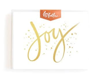 Joy Greeting Card Boxed Set