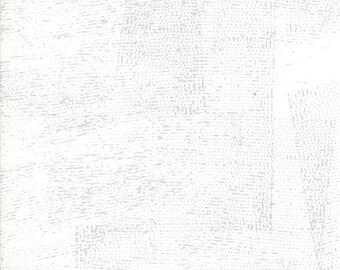 1/2 Yard - Fragile - Stamped - Chalk - Zen Chic - Brigitte Heitland - Moda - Fabric Yardage - 1632 11