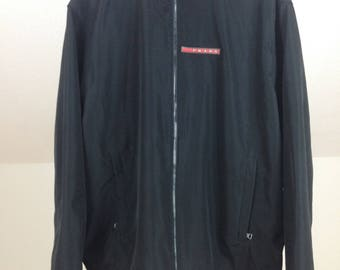 PRADA Windbreaker Jacket Size XL In Very Good Condition