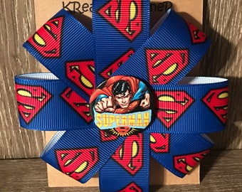 Super man barrette