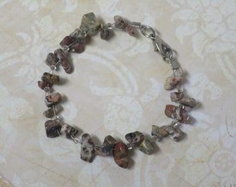 Picture Jasper gemstone bracelet CCS178