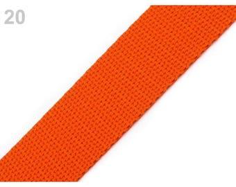 Strap 20 - 30 mm polypropylene orange