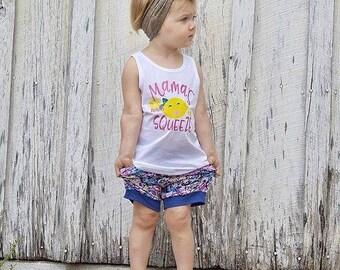 Mama's Main Squeeze, Lemonade tank, Pink Lemonade tee, Cute summer tees, Summer shirts for toddler, Hipster toddler shirt, Baby girl tees