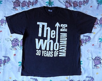 Vintage 90's The Who 30th Anniversary T shirt, size XL 1994 Maximum R&B
