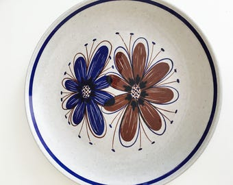Stavangerflint Norway Florry dinner plate - Scandinavian dinnerware - Mid Century Modern 1950s Kitchenware