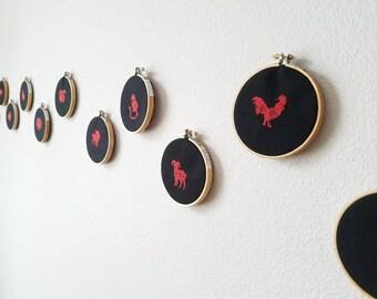 Chinese Zodiac Cross Stitch | Chinese New Year | Lunar New Year | Zodiac Sign