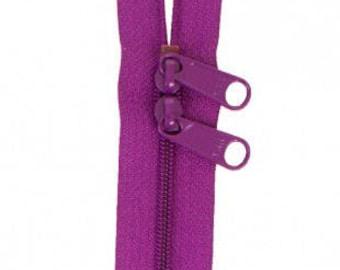 "40"" Double Slide Handbag Zipper by Annie - Color TAHITI"