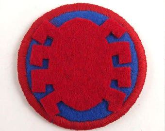 Spider Man Logo Badge Pin Button Patch