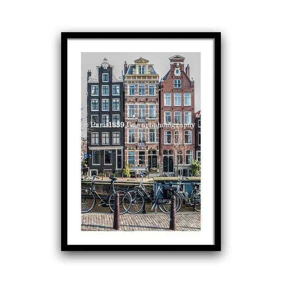 Canal House, Amsterdam Print, Photography Fine Art, Amsterdam Art Print, City Photograph, Amsterdam Photos, Digital Download, Printable Art
