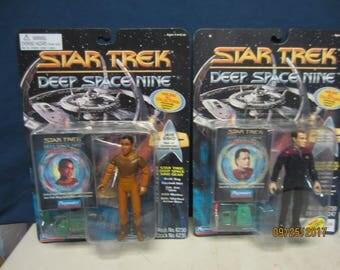 "Star Trek Deep Space 9 -  Jake Sisko and ""Q"" Action Figures"