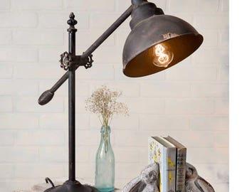 Adjustable Swing-Arm Task Lamp