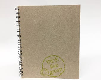 Superior quality 8.5X11 Notebook, journal, Writing journal, Notepad