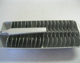 Vintage Aluminum Ice Cube Tray
