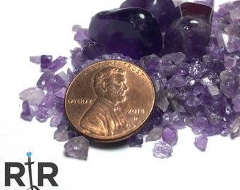 Crushed Purple Amethyst - Extra Large Sand - 100% Natural Without Fillers