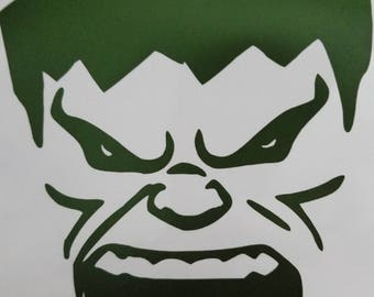 Hulk vinyl sticker
