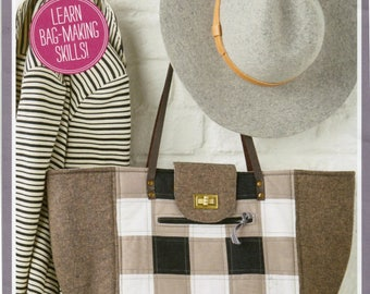 Simply Sewing City Shopper Tote Bag