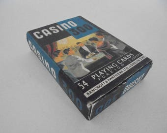 Vintage Casino 300 Playing Cards Bancroft Partners 1950s