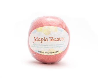 Maple Bacon Bath Bomb