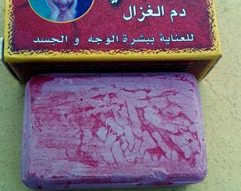soap with Berber powder Morocco