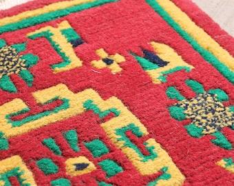 Tibetan Square Meditation Rug