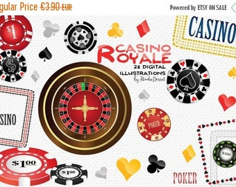 80% OFF - LIMITED TIME - Poker Cliparts, Casino Illustrations, Playing Cards  Clip Arts, Casino Chips Clipart, Roulette Clip Art, Gambling I