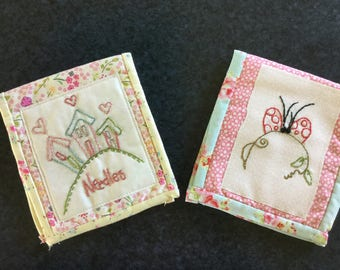 Needle cases made from Japanese and high quality cottons
