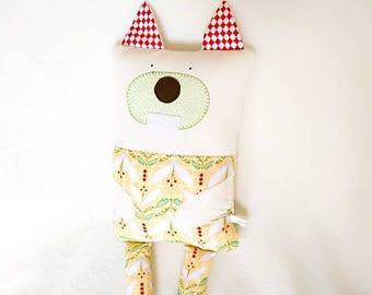 Squirrel Cuddle Buddy - Baby pillow / cushion - Toddler pillow / cushion - cute animal