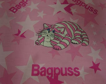 Vintage Bagpuss Single Duvet Cover & Pillowcase