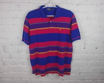 90s Polo Ralph Lauren Striped shirt