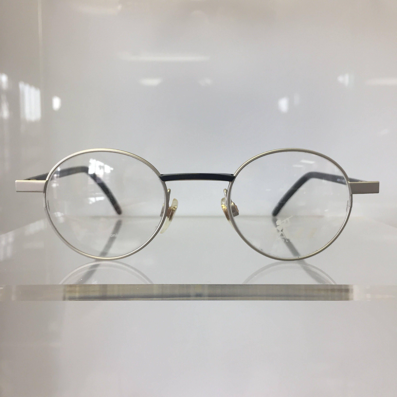 Vintage 90s Jazz by Europa Eyewear round metal frames ...