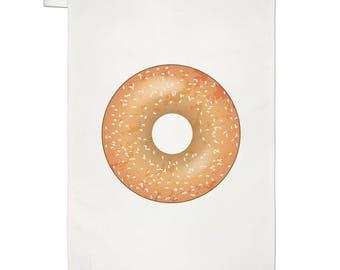 Sprinkled Glazed Doughnut Donut Tea Towel Dish Cloth