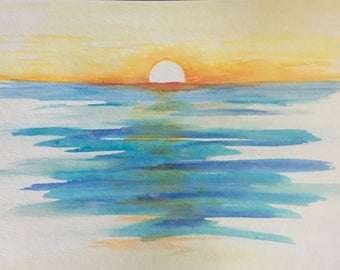 Dawn Watercolor PRINT