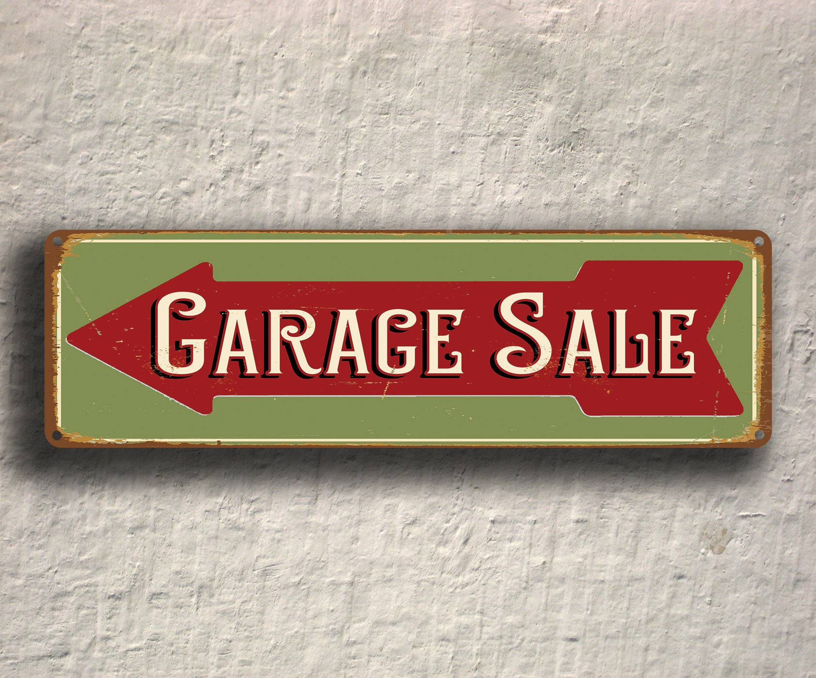 Sale Vintage Sign