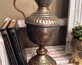 Vintage Copper Pitcher or Vase