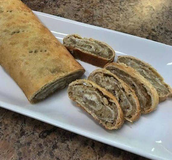 Old Fashioned Long Nut Rolls