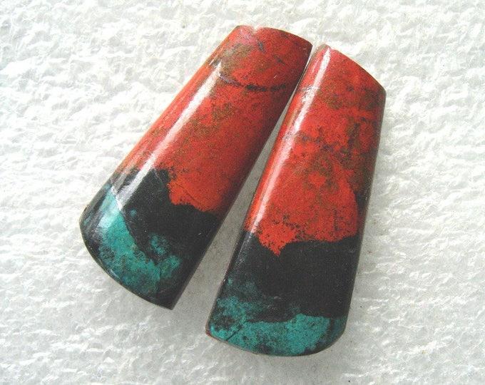 Sonoran Sunrise/Cuprite matching cabochons